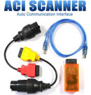 ACI Scanner with BMW and MB Adapter