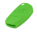 Silicone key Case For Audi A6L Flip Remote Key (Green Colour) 10pcs/Lot