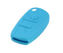 Silicone key Case For Audi A6L Flip Remote Key (Light Blue Colour) 10pcs/Lot