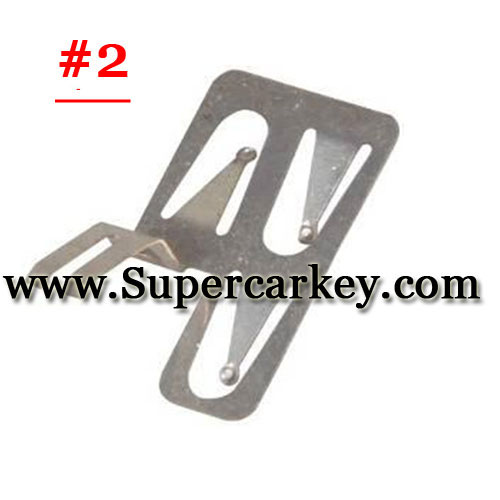 Car key battery clamp for Audi A6l 2#(10pcs/Lot)
