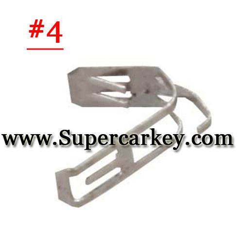 Car key battery clamp for remote key blank 4#(10pcs/Lot)