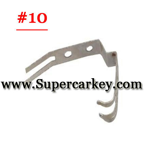 Car key battery clamp for remote key blank 10#(10pcs/Lot)