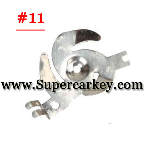 Car key terminal clamp for remote key blank 11#(10pcs/Lot)