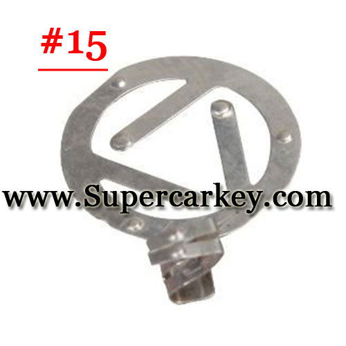 Car key terminal clamp for remote key blank 15#(10pcs/Lot)