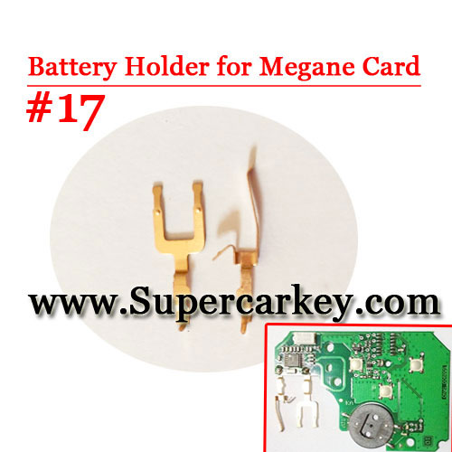Battery Clamp For Megane Card #17(10pcs/lot)