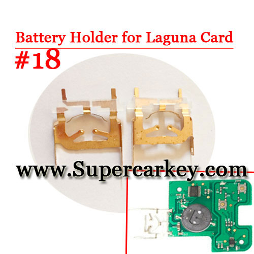 Battery Clamp For Laguna Card #18(10 Pcs/lot)