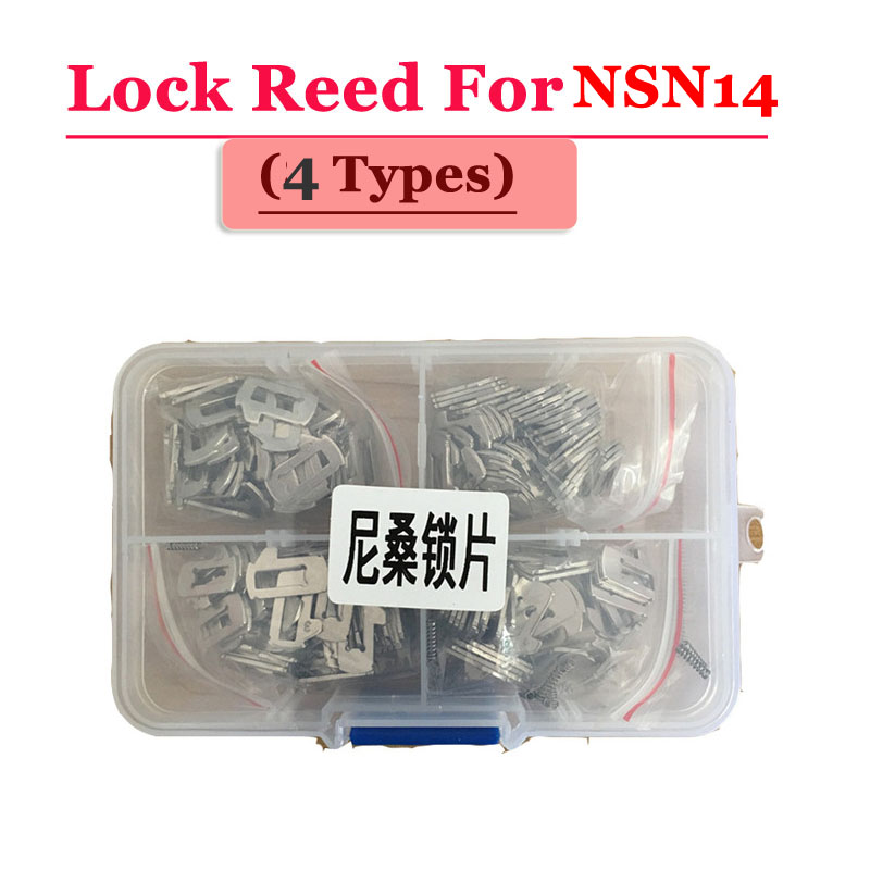 Lock Reed For Nissan NSN14 100pcs/Box(each type 25pcs)