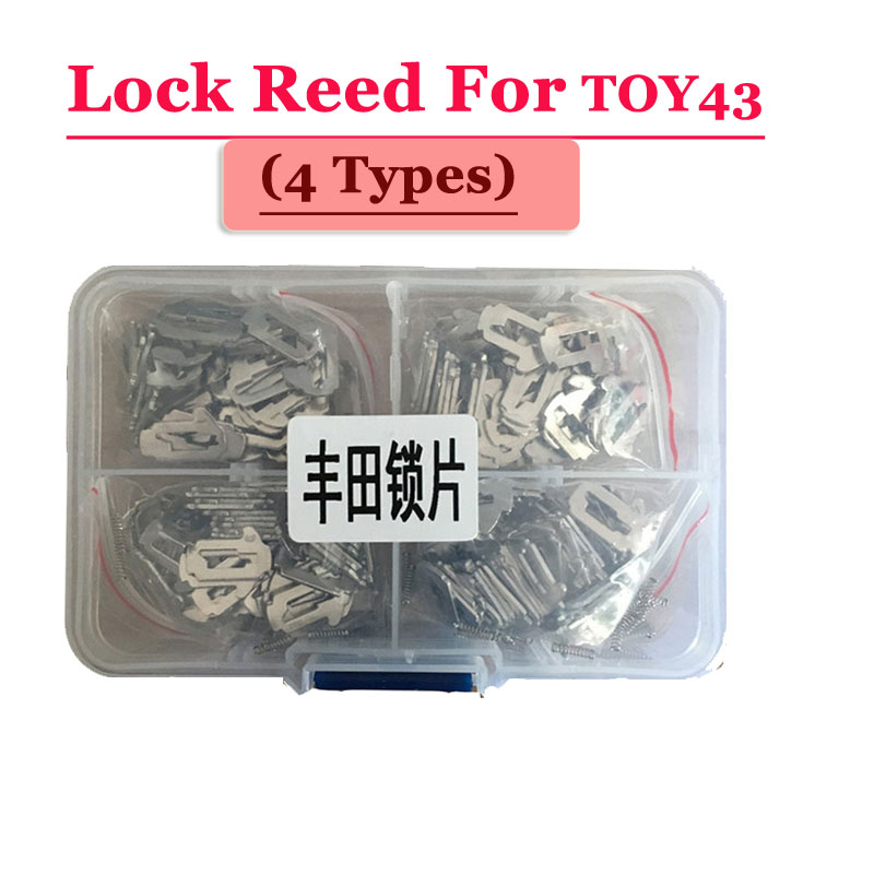 Car Lock Reed For Toyota TOY43 100pcs/Box( each type 25pcs)
