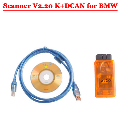 FOR BMW SCANNER V2.20 K+DCAN