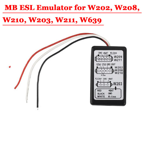 ESL Emulator for W202, W208, W210, W203, W211, W639 for MB