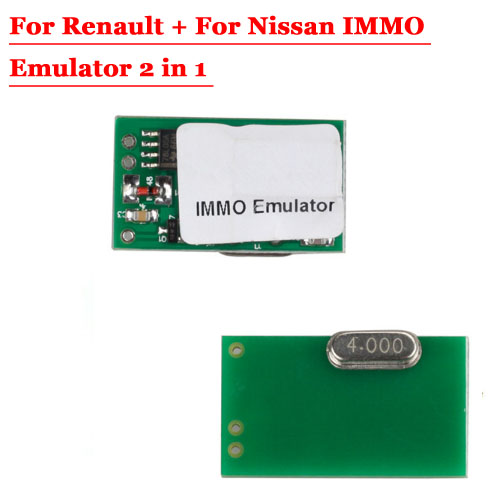 Immo Emulator 2 IN 1 for Nissan & Renault