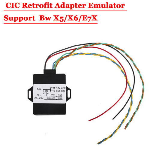 For BMW Retrofit Adapter Emulator Support X5/X6/E7X With Activation