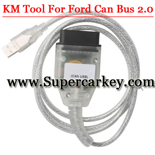 Xhorse KM Tool For Ford CAN BUS V2.0 Update Online Fix Bugs of Accessing ECU