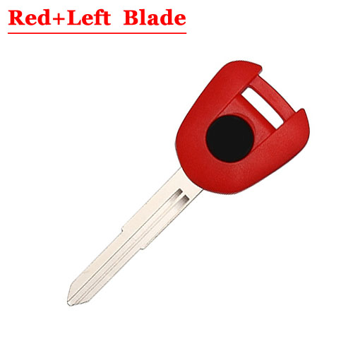 HD motorcycle transponder key blank Type#11 Red One Left blade