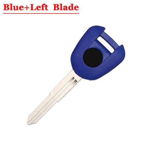 Type#11 Motorcycle Transponder Key For HD Left Blade BLUEcolour