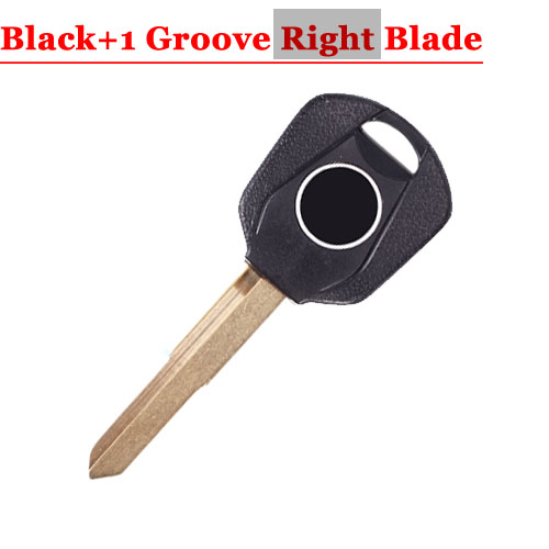HD motorcycle transponder key blank Type#15 BLACK One Right 1 groove Blade