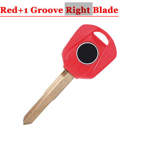 HD motorcycle transponder key blank Type#15 Red One Right 1 groove Blade