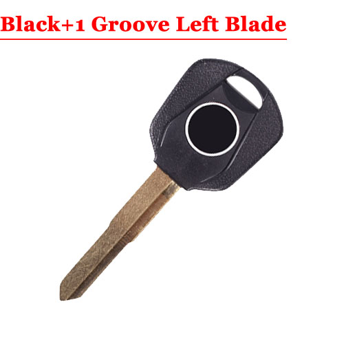 HD motorcycle transponder key blank Type#16 Black One LEFT 1 groove Blade