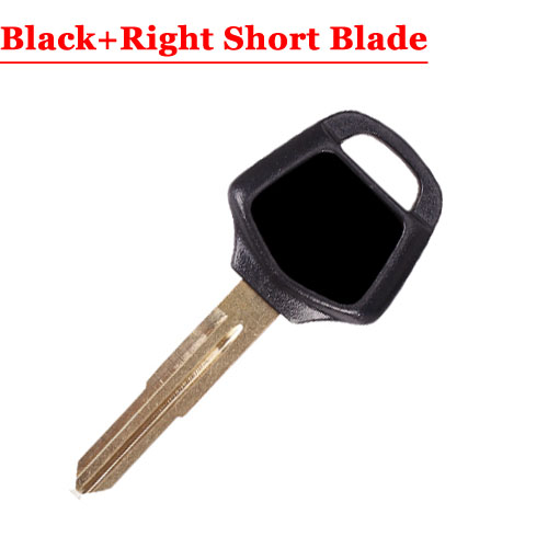 HD motorcycle transponder key blank Type#17 Black One Right short Blade