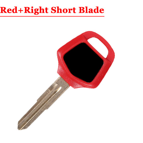 HD motorcycle transponder key blank Type#17 Red One Right short Blade