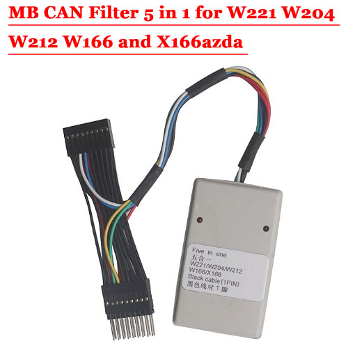 MB CAN Filter 5 in 1 for W221 W204 W212 W166 and X166