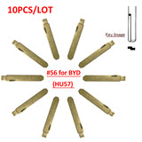 Byd key blade type #56 10pcs/lot