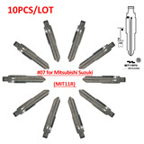 Mitsubishi key blade type #07 10pcs/lot