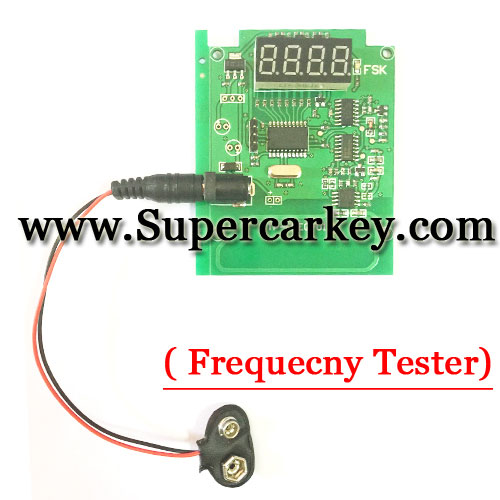 Universal Remote Frequecny Tester(100MHz to 1000MHz)