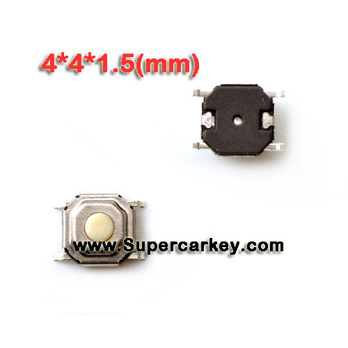 Remote key button 10pcs/lot (4*4*1.5 mm)