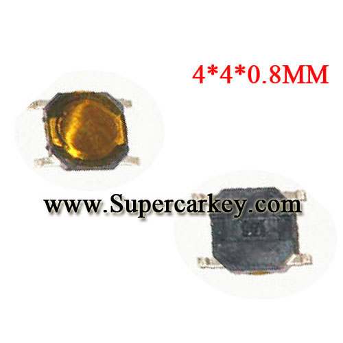 Micro Switch 4*4*0.8 10pcs/lot