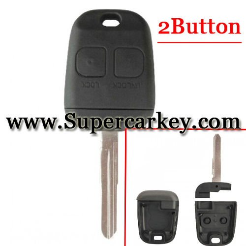 New 2 button remote key shell for Toyota