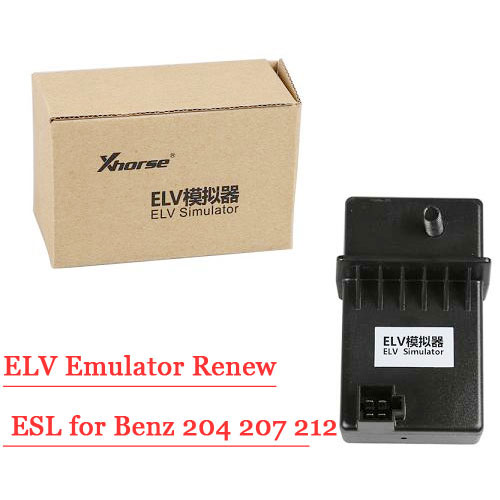 XHORSE ELV Emulator Renew ESL for Benz 204 207 212 with VVDI MB tool