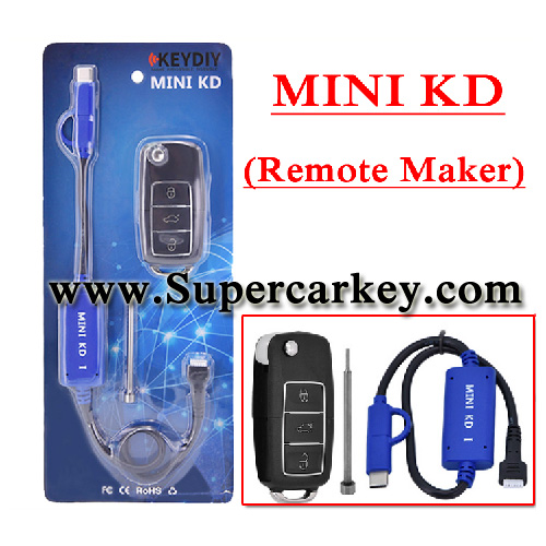 KEYDIY Mini KD Key Generator Remotes(Support Many Remote)