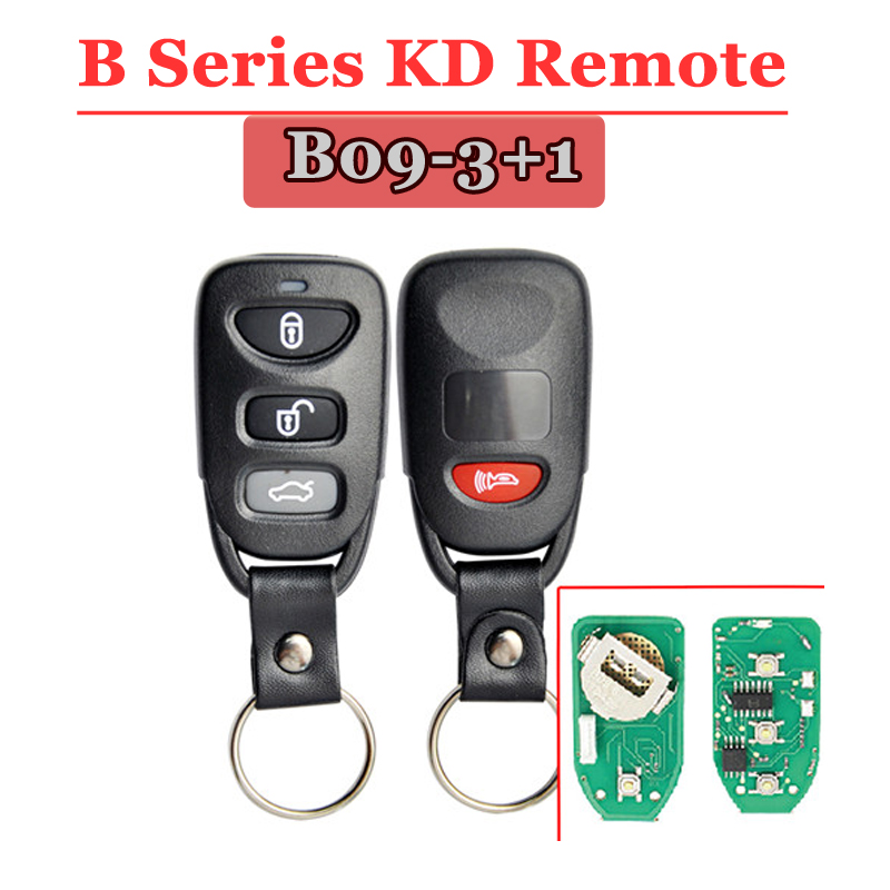 B09-02 4 Button Remote Key for URG200/KD900/KD200
