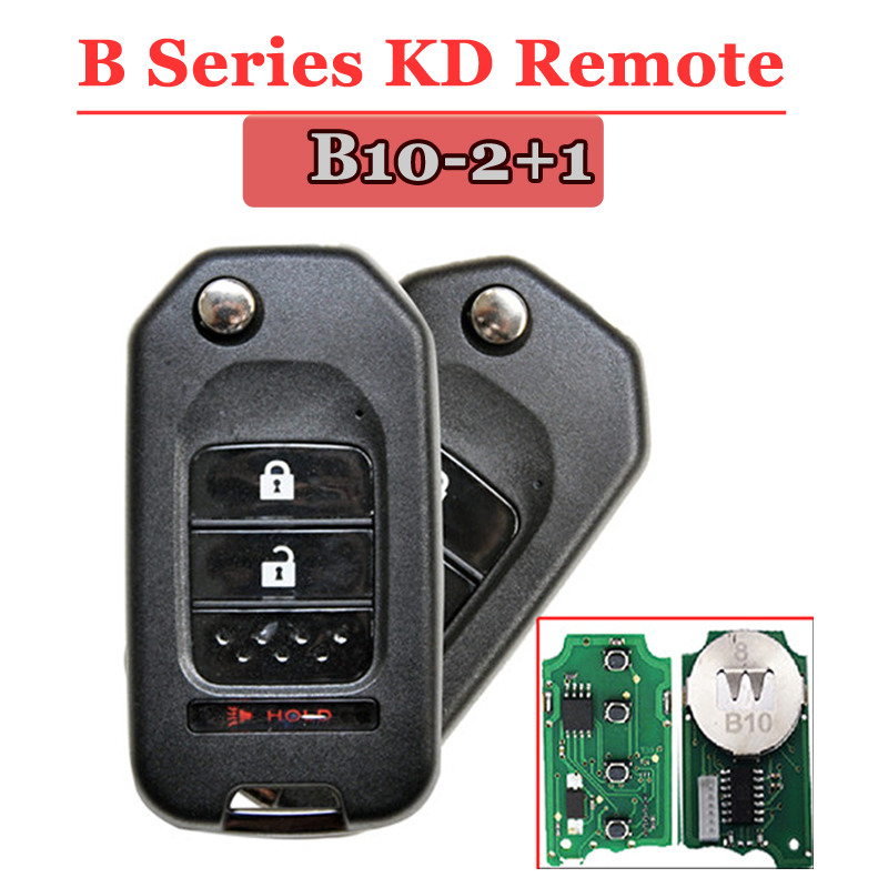 B10-02 2+1 Button Remote Key for URG200/KD900/KD200