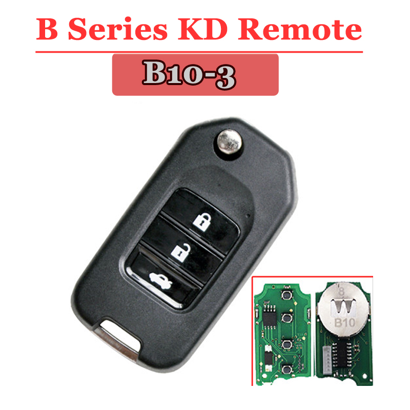 B10-03 3 Button Remote Key for URG200/KD900/KD200