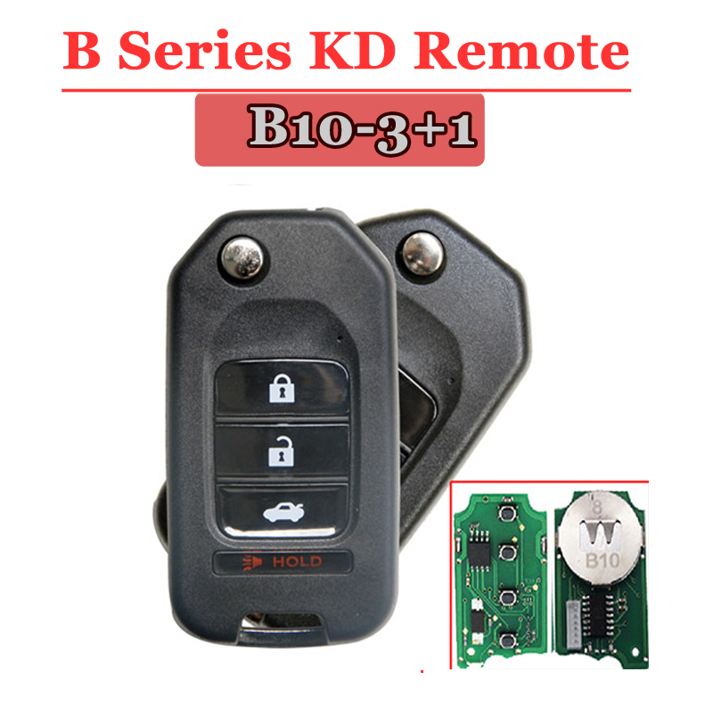 B10-04 3+1 Button Remote Key for URG200/KD900/KD200