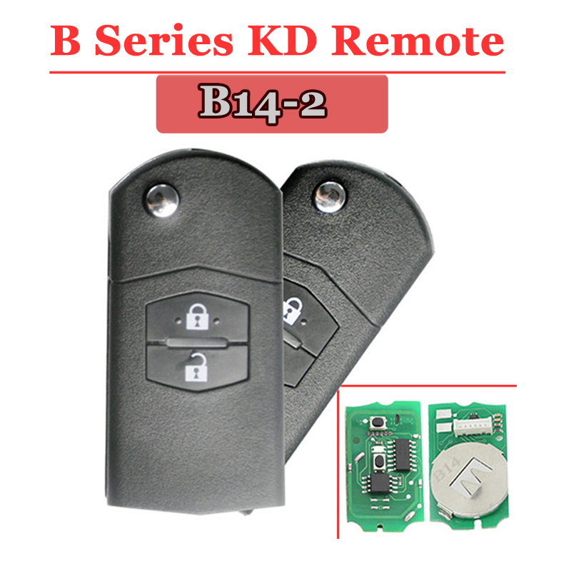 B14-01 2 Button Remote Key for URG200/KD900/KD200