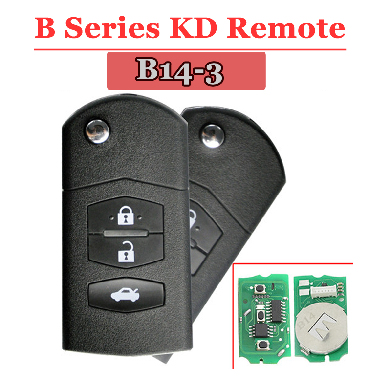 B14-02 3 Button Remote Key for URG200/KD900/KD200