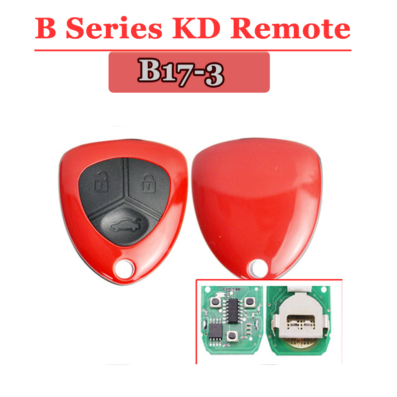B17 3 Button Remote Key with Red colour for URG200/KD900/KD200