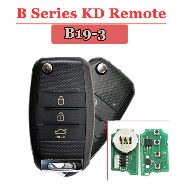 B19 3Button Remote For KD900(KD300) Machine