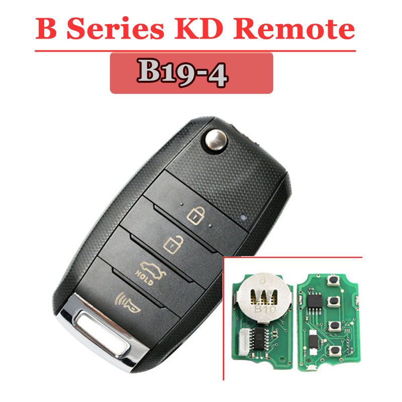 B19 4Button Remote For KD900(KD300) Machine