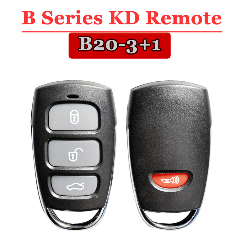 B20 3+1 Button Remote For KD900(KD300) Machine