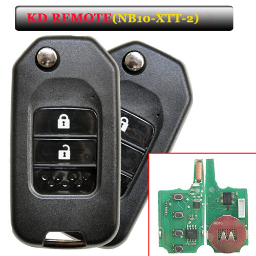 NB10 2 button remote key with NB10-XTT-2 model for KD900 machine