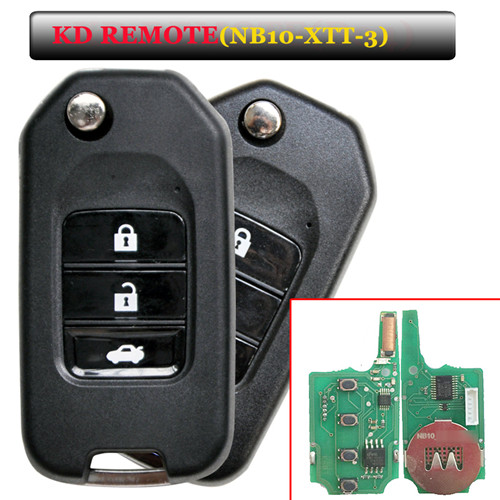NB10 3 button remote key with NB10-XTT-3 model for KD900 machine