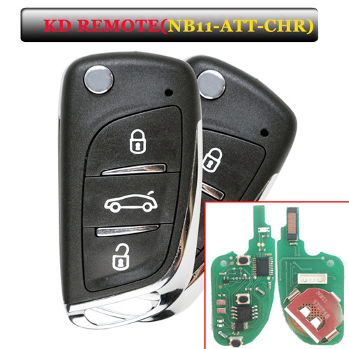 NB11  remote key with NB11-ATT-Chrysler model for KD900 machine