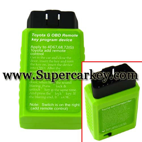Toyota G Chip Vehicle OBD Remote Key Programmer Factory price