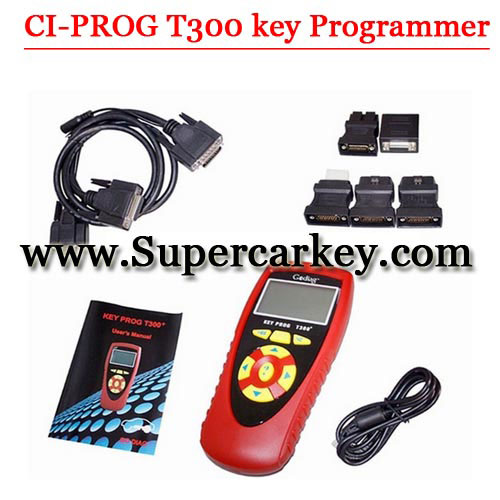 CI-PROG 300 Remote and Car Chip Adapter(English Version)