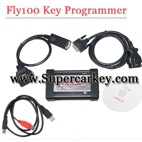 automotive diagnostic tool Fly100 full function PC scanner