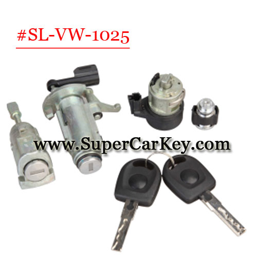 (SL-VW-1025 )Car Lock For VW POLO Lock full set